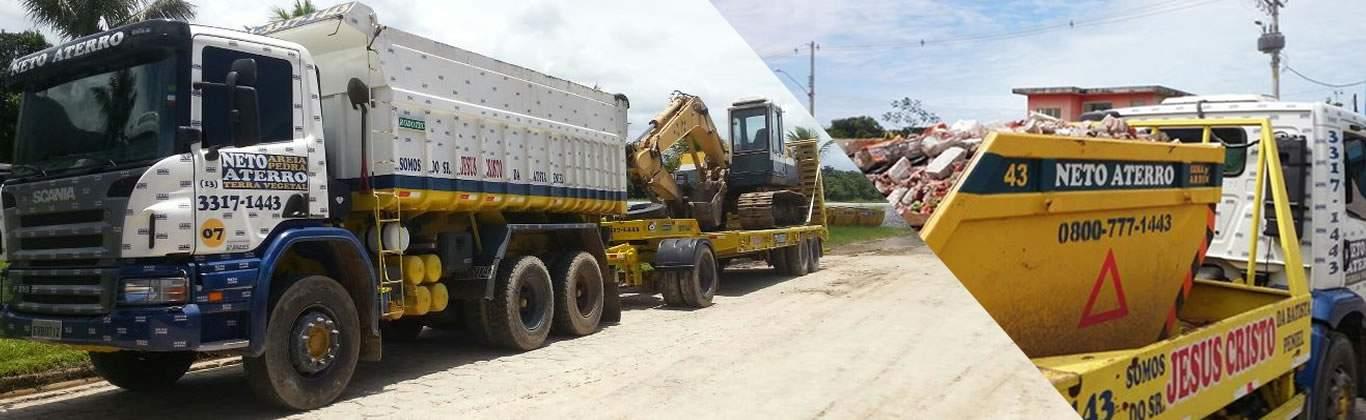 Locação de Caçamba para Entulho de Obras em Bertioga e Boiçucanga